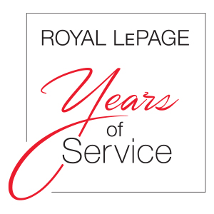 Individuals who have been with Royal LePage for 5 years of more.
