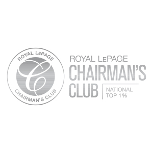 Royal LePage's highest, most prestigious, production-based award. National Top 1% of Royal LePage REALTORS® based on closed and collected gross commission income (GCI) and closed units sold.